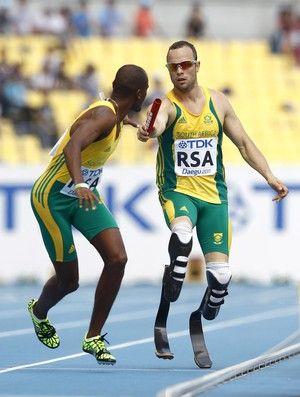 Pistorius faz índice nos 400m rasos para disputar os Jogos