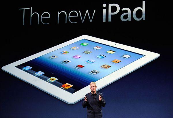 Apple vende número recorde de 3 milhões do novo iPad em três dias