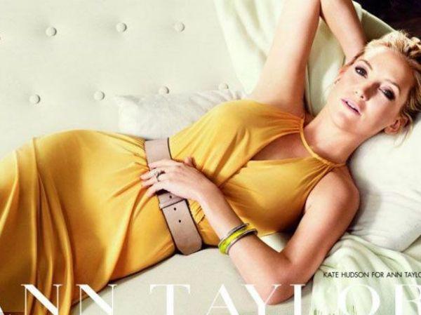 Atriz Kate Hudson é estrela de campanha de moda