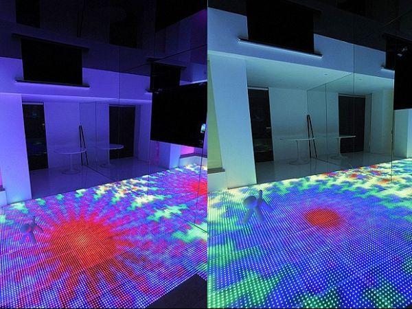 Família gasta R$ 3 milhões para criar discoteca com pista iluminada dentro da própria casa