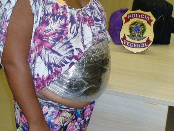 Falsa grávida é presa em flagrante em RN
