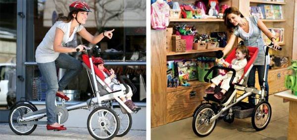 Mobilidade urbana para toda a família