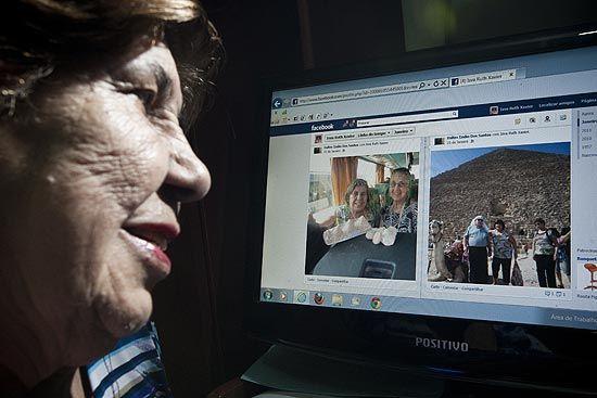 Redes sociais viram aliadas da terceira idade contra solidão