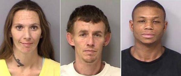 Trio rouba combustível, mas deixa rastro de óleo na fuga e acaba preso