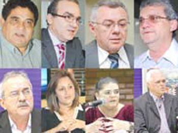 Oito deputados devem sair candidatos em 2012
