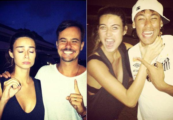Esposa de Paulo Vilhena posta foto enforcando Neymar