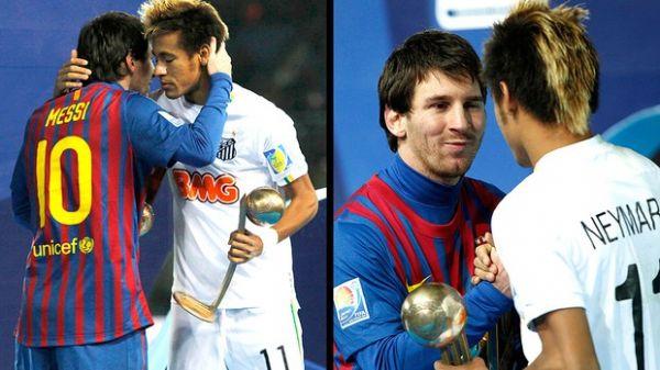 Neymar se diz fã de Messi e nega rivalidade com Lionel Messi