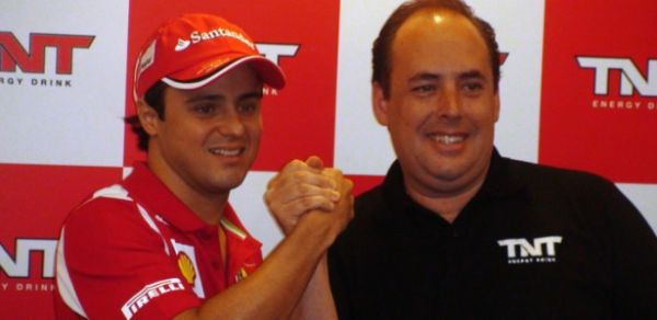 Patrocinador brasileiro da Ferrari conta com a permanência de Massa após 2012