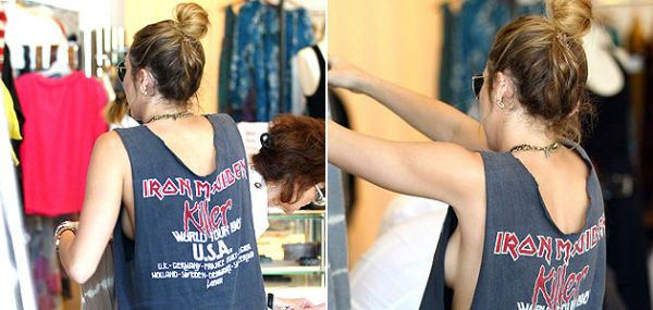 Miley Cyrus é flagrada sem calcinha e sem sutiã