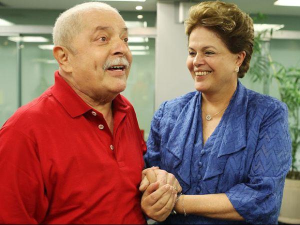 Dilma se encontra com Lula no escritório da Presidência em SP