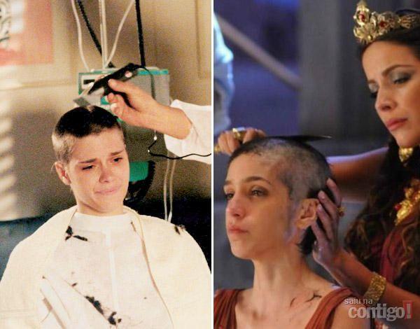 Rei Davi:Roberta Gualda fala como foi rapar cabelo para novela