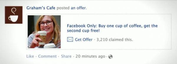 Empresas podem começar a postar promoções em páginas do Facebook
