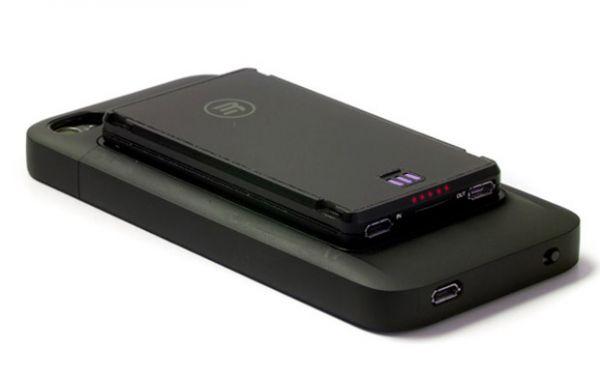 Case para iPhone carrega a bateria do smartphone e outros gadgets USB