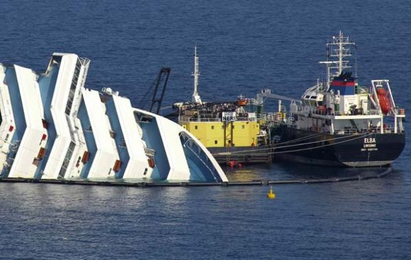 Naufrágio Costa Concordia:Itália identifica mais cinco corpos