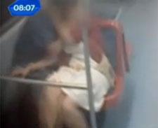 Câmeras da CPTM flagram casal fazendo sexo em trem : veja o video .