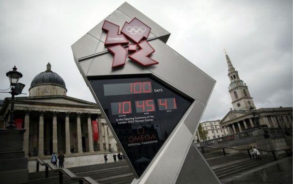 Londres comemora a marca de cem dias para o início das Olimpíadas