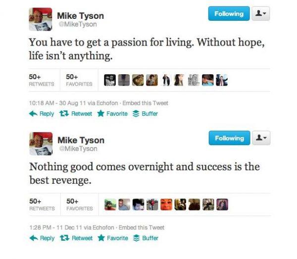 Mike Tyson vira peso-pesado também nas redes sociais