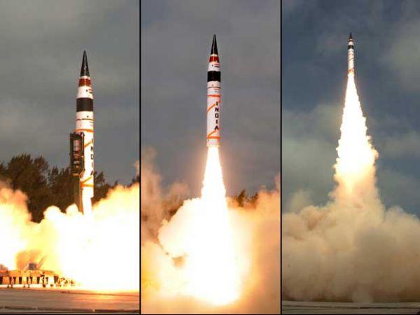 Índia testa com sucesso seu primeiro míssil de longo alcance