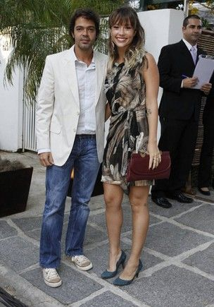 Juliana Didone e Bruno Mazzeo terminam namoro