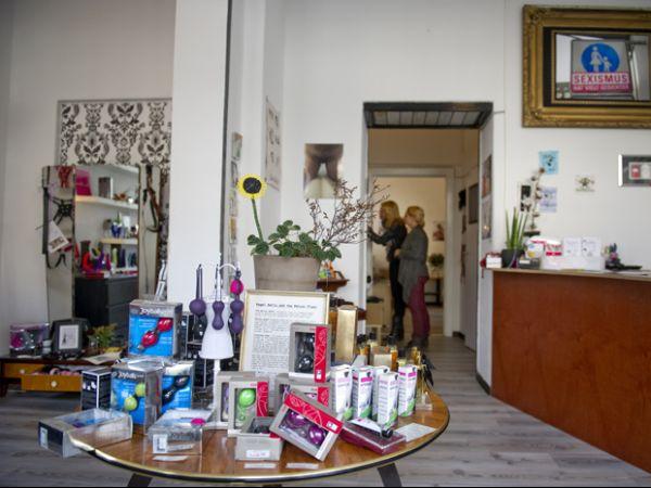 Berlim: sex shop ecológico vende