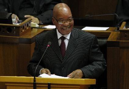 Presidente da África do Sul se casa com a 4ª esposa