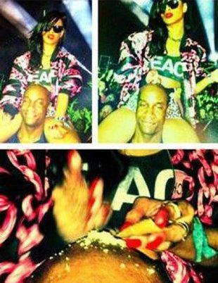 Rihanna fala sobre fotos polêmicas que aparece com pó branco