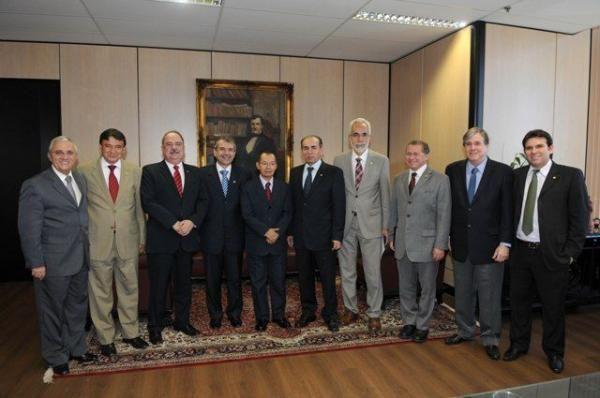 Bancada piauiense se reúne com ministro dos Transportes em Brasília