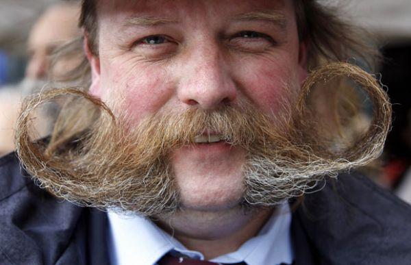 Bélgica tem campeonato de bigode