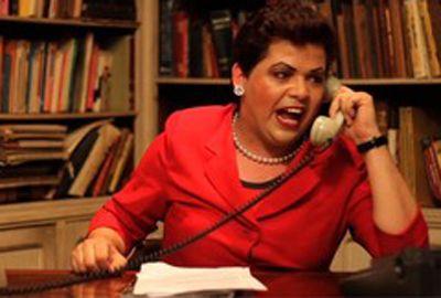 Gustavo Mendes, a Dilma do ?Casseta?: ?Pensei em ser pastor