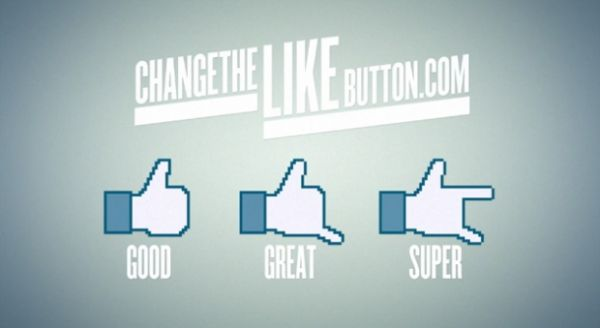 Campanha no Facebook pede troca no botão de
