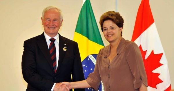 Dilma e o Governo do Canadá anunciam 12 mil bolsas de estudo