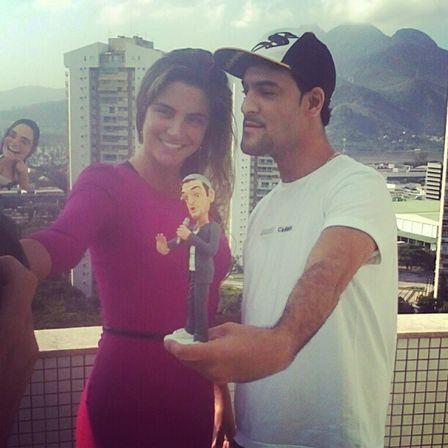 Laisa ganha miniatura com bumbum à mostra do MC Créu e aceita fazer clipe