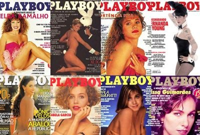 Relembre as capas mais bizarras da Playboy