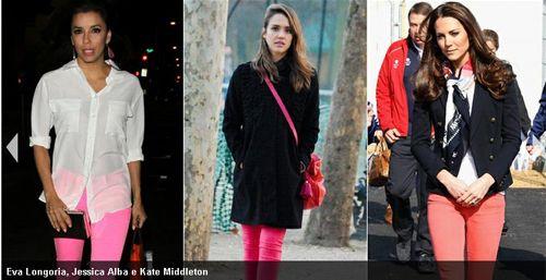 Calças jeans rosa invadem lojas e fazem sucesso; Veja quem usa