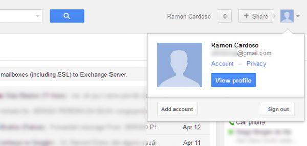 Como habilitar o acesso a múltiplas contas do Google?