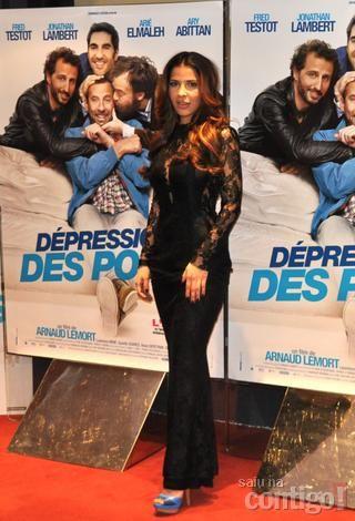 Gyselle Soares participa do lançamento do filme Dépression et des potes