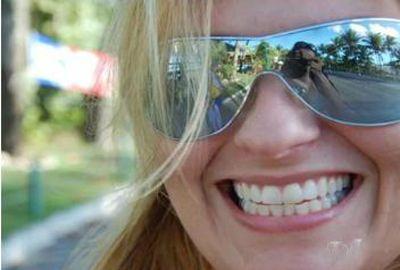 Imagem mostram filha de deputado momentos antes de ser assassinada
