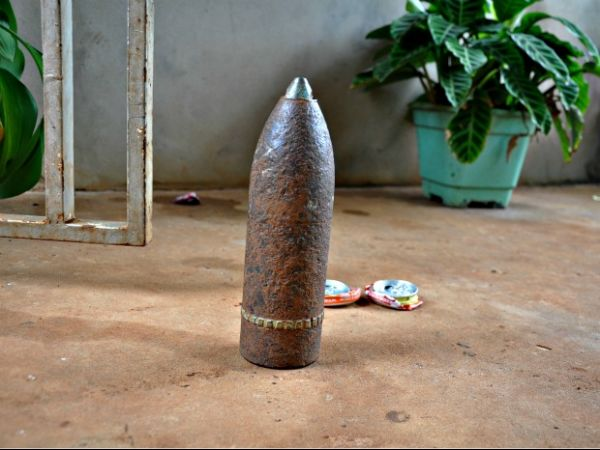 Família usava bomba como