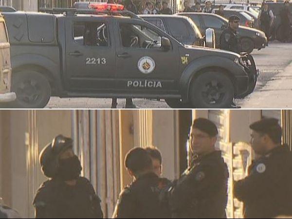 Bandidos invadem prédio e mantêm reféns no Distrito Federal
