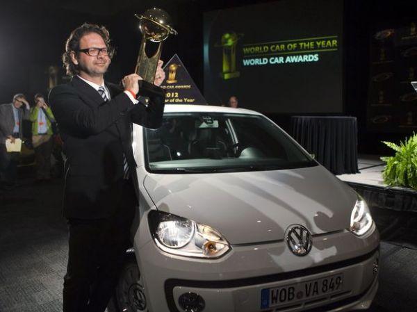 Salão de NY: Volkswagen Up! é eleito Carro do Ano nos EUA