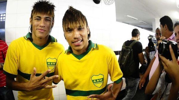 Dublê de Neymar,