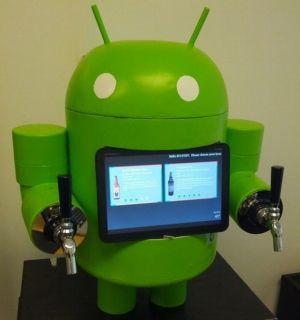 Funcionário do Google inventa chopeira inspirada em boneco do Android