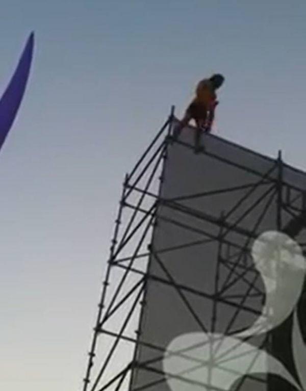 Jovem sobrevive após cair de 20 m durante festival musical na Austrália