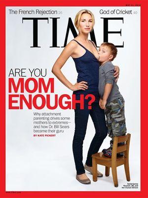 Polêmica capa da revista Time traz mãe amamentando filho de 3 anos
