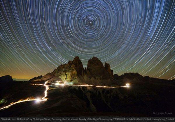 Concurso de fotos noturnas do céu escolhe vencedores