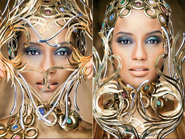 Atriz Taís Araújo é embaixadora de concurso de joias; fotos