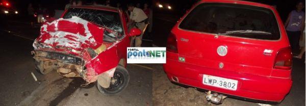 Cantor se envolve em grave acidente na BR-407
