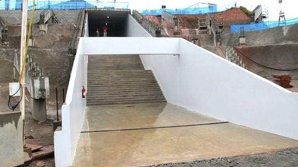 Com cara de Copa, Arena Corinthians estreia túnel para gramado