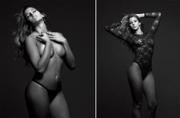 Musa do volêi, Mari Paraíba, faz fotos sensuais para
