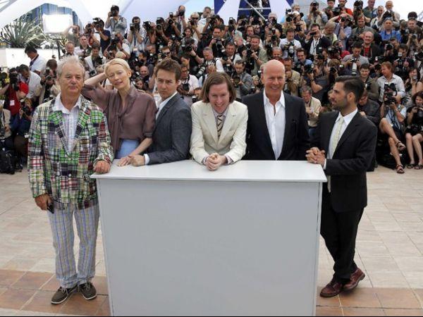 Bruce Willis e outras estrelas na abertura do Festival de Cannes